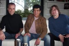 Mit Torsten Lüderwaldt bei Ray Dorset (Mungo Jerry) in Bielefeld