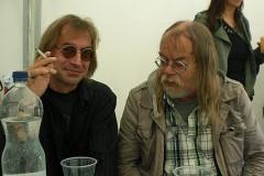 Dete Kuhlmann und ich Backstage beim NP-Fest