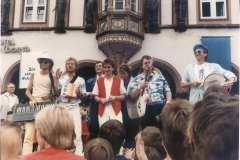 High Life bei TV-Aufnahmen in Goslar
