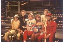 1984 Fotosession High Life bei der ZDF-Hitparade